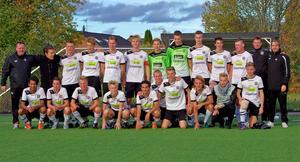 Seriesegrare. ÖSK:s U17-lag vann division 1 västa Götaland och klubben är därmed klar för nästa års U17-allsvenska.