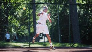 14-årige Simon Yitbarek är rankad som nummer elva i Sverige i sin ålder. Hans målsättning är dock att bli topp 100 i världen när han är 20-23 år.