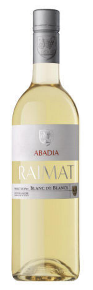 Raimat Abadia Blanc de Blancs 2007. Fräscht vitt. Mycket syrapiggt och sommarfräscht spanskt vin.