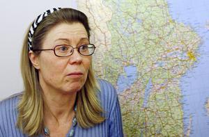 Vice chefsåklagare Eva-Lena Rimér har via kontoutdrag kunnat se hur pengarna överförts till de misstänktas konton.