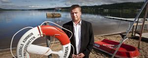 Robert Carlberg tycker att det är jättetråkigt att båten nyttjas på fel sätt när det klart och tydligt står när livräddningsbåten ska användas.