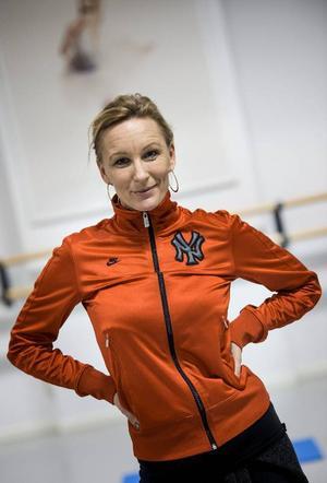 Lotta Furebäck, koreograf och ansvarig för Melodifestivalens shownummer.Foto: Pontus Lunndahl/TT