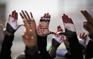 Afrah Nasser tvingades fly från Jemen under den arabiska våren efter att hon skrivit om protesterna mot regimen.