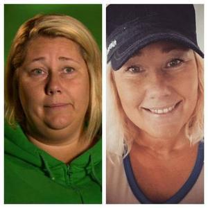 Theresa vägde 123 kilo för något år sedan. Nu väger hon 88, främst tack vare en överviktsoperation. Men Theresa var också med i Biggest Loser 2014, något som inte passade henne.