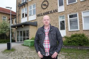 John Åberg, ordförande i Sollefteå arbetarekommun och landstingspolitiker.