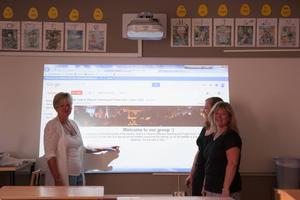 Något lärarna ser fram emot är att kunna använda de nya verktygen i undervisningen.