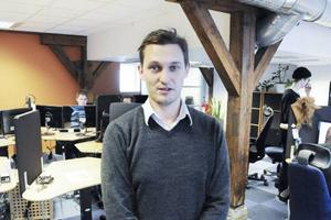 – Vi har mycket på gång i Loxysoft och kommer att fortsätta växa i Östersund, säger vd Tobias Sjölander.