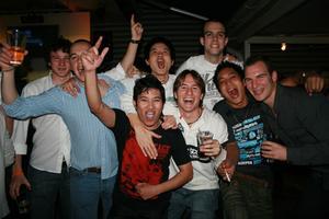 Pluto. Cristian, David, Eduardo, Jorge, Alvaro mfl