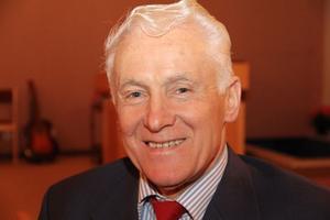 Asger Laursen, 71 år, är från danska Bornholm. Kom till Harmånger som pastor 1994 efter 19 år i Köpenhamn och den danske Pinsebevegelsen..