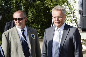 Landshövdingen Jöran Hägglund välkomnade de tävlande.