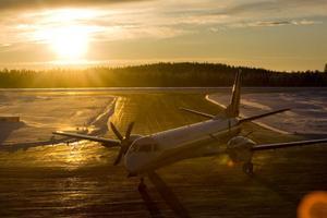 För fem år sedan genomförde Höga Kusten Flyg sin första resa mellan Örnsköldsvik och Stockholm/Arlanda. Efter ett par förlustår har det vänt till vinstsiffror för företaget.