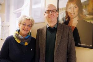 Carina Asplund och Bosse Svensson är etta respektive tvåa på Östersundscenterns kommunlista.