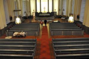 Mellan klockan 10 och 18 finns möjligheten att viga sig eller döpa sig eller sitt barn i Säters kyrka.