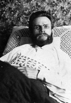 FRITÄNKARE.  Viktor Lennstrand avled på Gävle sjukhus hösten 1895, bara 34 år gammal. Han var känd över hela landet som hädarynglingen och hade suttit i fängelse för att han kallade religionen för vidskepelse.