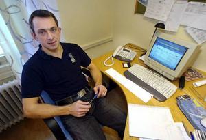 Peter Johansson – klubbdirektör. Arkivbild