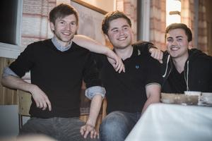 Från vänster Staffan Persson, Joakim Persson och Daniel Persson.