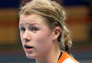 Målvakten Martina Thörn.