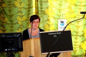 Katarina Bylin, (S), ordförande i Nordanstigs Bostäder AB.
