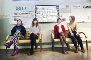 Vera Viksten, Karin Mattsson Wesslén, Maja Svedlund och Li Oskarson Kindstrand såg till att feministföreningen Lilith återuppstod för en månad sedan.