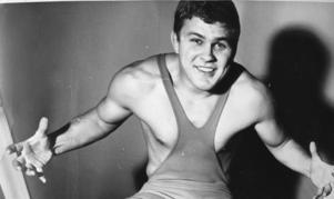 Pelle Svensson 1965, året efter att han tagit silver på OS i Tokyo.