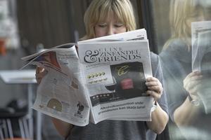 vinannons. Reglera alkoholreklamen hårdare, kräver skribenten.Foto: Leif R Jansson//TT
