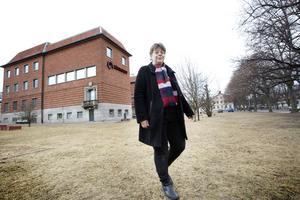 Länsmuseets Ann Nilsén har full koll på Gävles näringslivshistoria.
