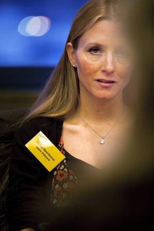 Carina Henriksson från Tornedalsteatern i Pajala.