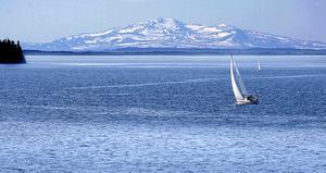 Alla båtfärder slutar inte med en säker angöring vid bryggan. Det händer någon gång per år att en båt går på grund i Storsjön.