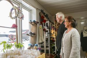 Andrea Harneid och Robert Stüve njuter av att bo i Lillhärdal.