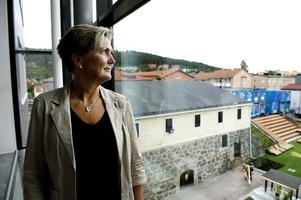 Lärarlinjen öppnar i nybyggda lokaler i kvarteret Åkanten. Lena Ivarsson är avdelningschef på avdelningen för utbildningsvetenskap.