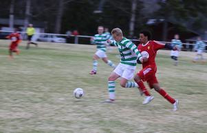 Sveg kämpade väldigt bra matchen igenom men var ofta steget efter ett för dagen starkare motstånd.