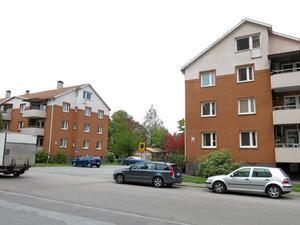Byggplaner. Svärdsliljegatan kan få fler bostäder. Foto: Yngve Fredriksson$RETURN$$RETURN$