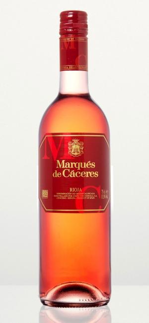 Marques de Caceres – en torr rosé som passar fint till sommarmaten.