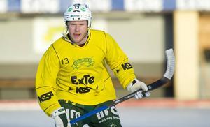 Ljusdals libero Johan Berglund ser fram mot en ny säsong – och en ny toppattack mot elitserien.