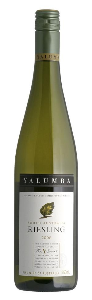 Yalumba The Y ­Series Riesling 2009 passar både fisk och ost.
