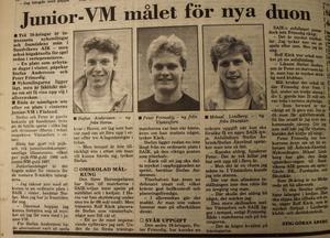Arbetarbladet 20 november 1987.