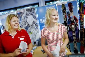 Skistar Vemdalen sökte under onsdagen allt från skidinstruktörer till butikspersonal på arbetsförmedlingen i Gävle.