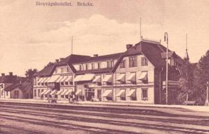Järnvägshotellet i Bräcke.