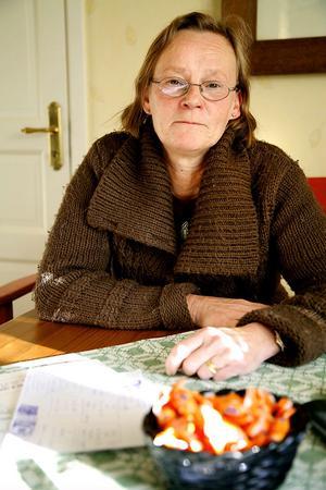 Charlotte Klötz är ordförande för kvinnojouren Vändpunkten.