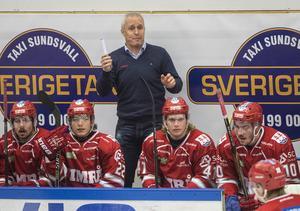 Roger Forsberg, tränare i Timrå IK.