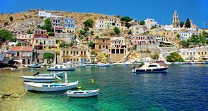 Till Grekland finns många billiga resor just nu.