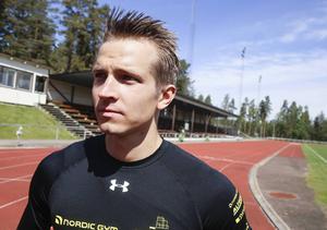 Joel Groth är dagens stora profil inom friidrotten i Hälsingland. För drygt 20 år sedan var en annan hälsingeprofil i rampljuset på just 400 meter häck – Ljusdalstjejen Frida Johansson, numera Johansson.