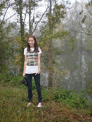USA. Sophia Westergren är långt hemifrån just nu. Hon pluggar på ett college i sydstaten Arkansas i USA.