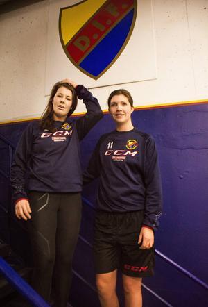 Ett nytt klubbmärke på bröstet och ett nytt kapitel i hockeykarriären. I Djurgården får de tidigare Sundsvall Wildcats-lirarna Isabell Lindström och Jennifer Berggren vara med på en spännande resa.