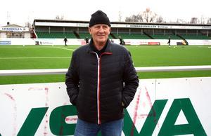 Rolf Zetterlund gästade Domnarvsvallen inför årets säsongsstart.