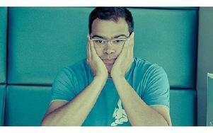 Författaren Ricardo Adolfo. Foto: