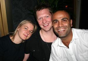 The Circus. Sara, Fredrik och Abed