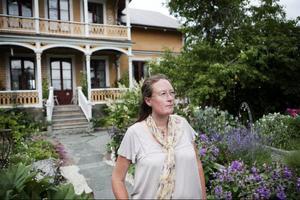 """Wictoria Boije trivs i sin trädgård och det var det många andra som också gjorde under söndagen när det var """"öppen trädgård."""""""