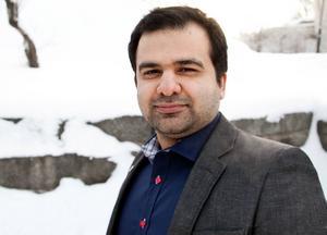 Sollefteås kommunstrateg Majed Safaee misstänks för att ha förtalat oppositionsrådet Per Wahlberg (M).