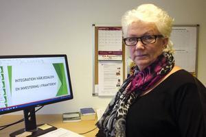 Mai Britt Halvarsson är integrationssamordnare på kommunen.